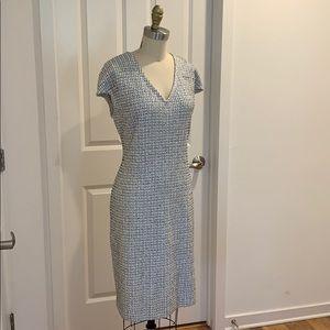 St. John Knits Cap Sleeve Dress